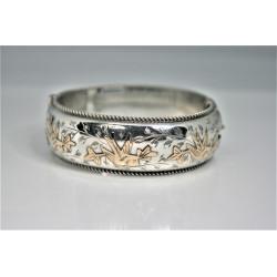 Bracelet en argent vintage