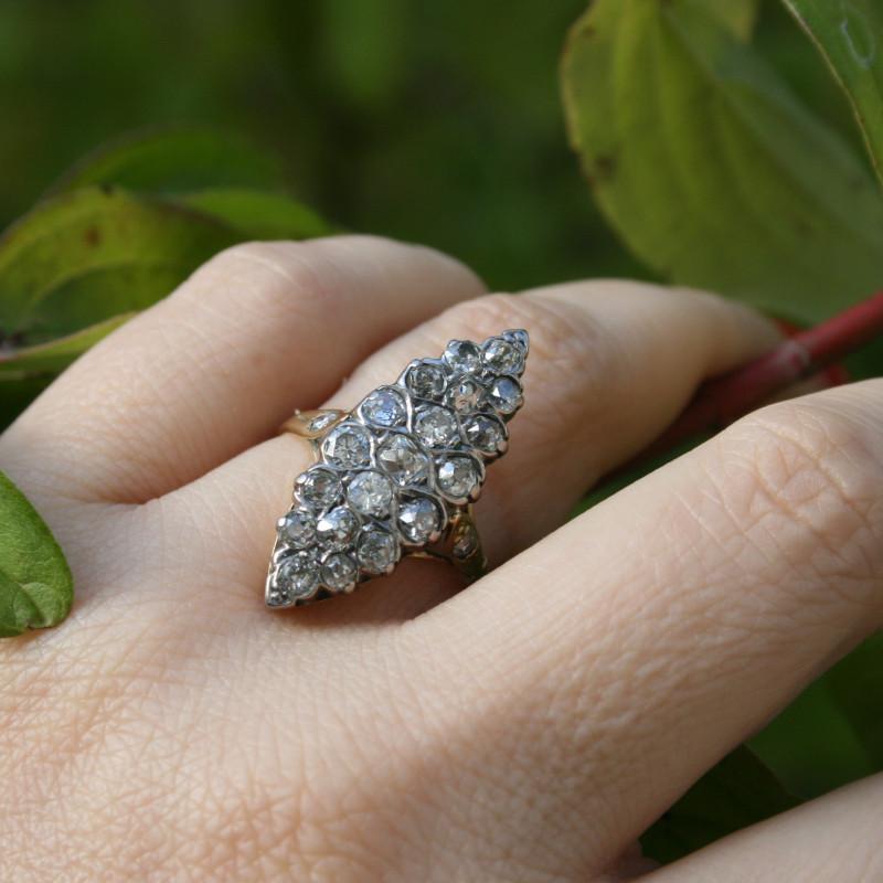 antique diamonds ring