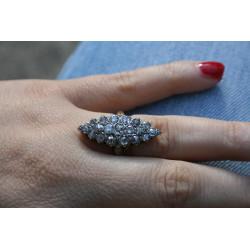 diamonds cocktail ring