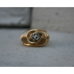 french rétro ring