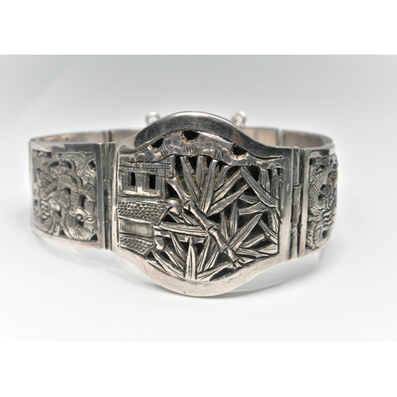 Indochina silver bracelet