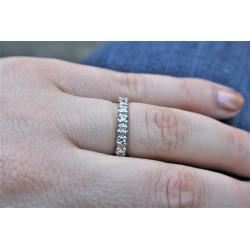 diamond eternity ring 1,5 carat ttw