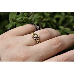 antique 18K gold ring