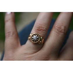 French diamond ring
