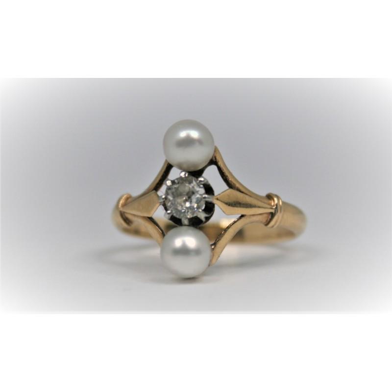 bague diamant ancienne