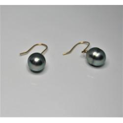 Boucles d'oreilles perles de Tahiti