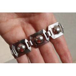 Bracelet moderniste époque Art Déco
