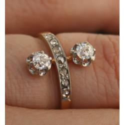 Bague diamants Belle Époque